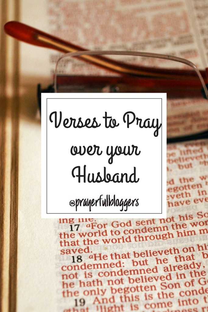 verses to pray over husband